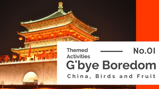 Activity Plans for China, Birds & Fruit