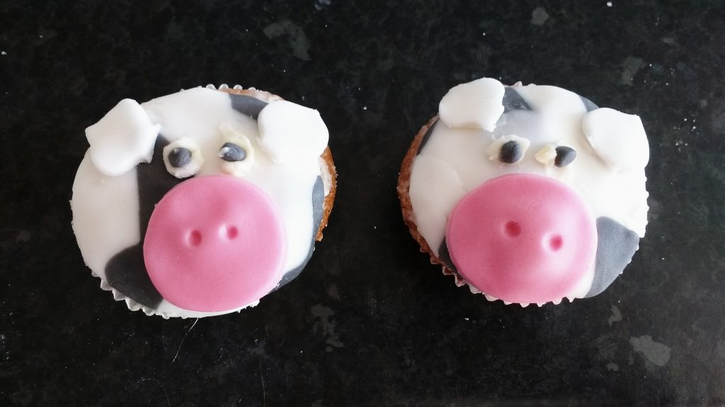 Farm Animal Buns cows
