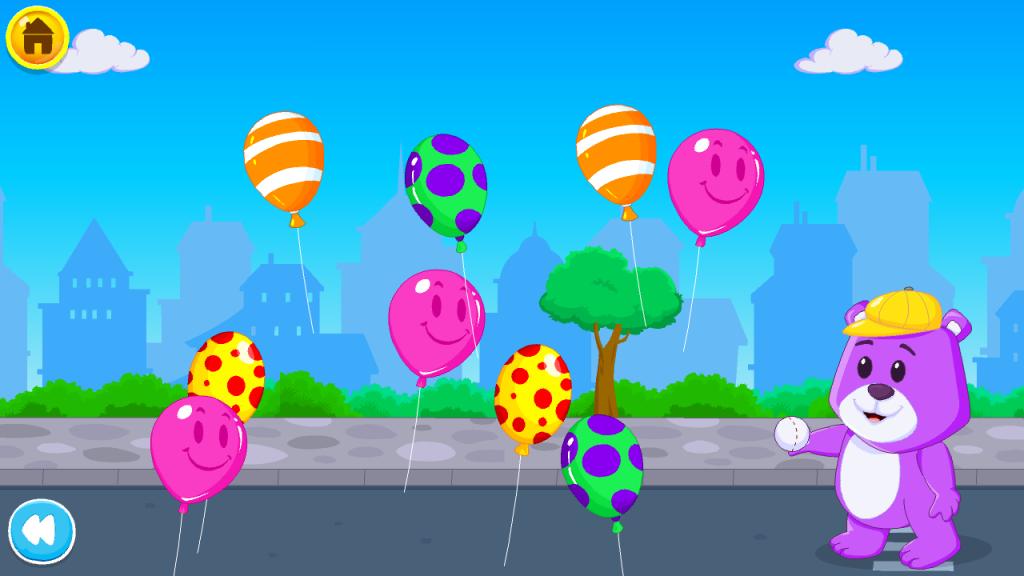 Kidloland balloon game