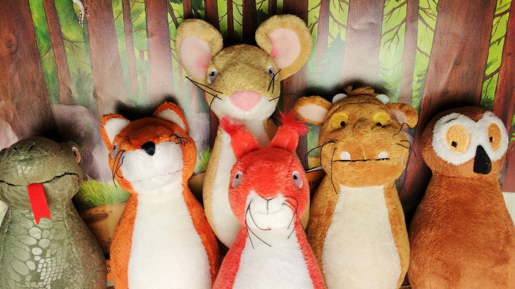 different gruffalo soft toys