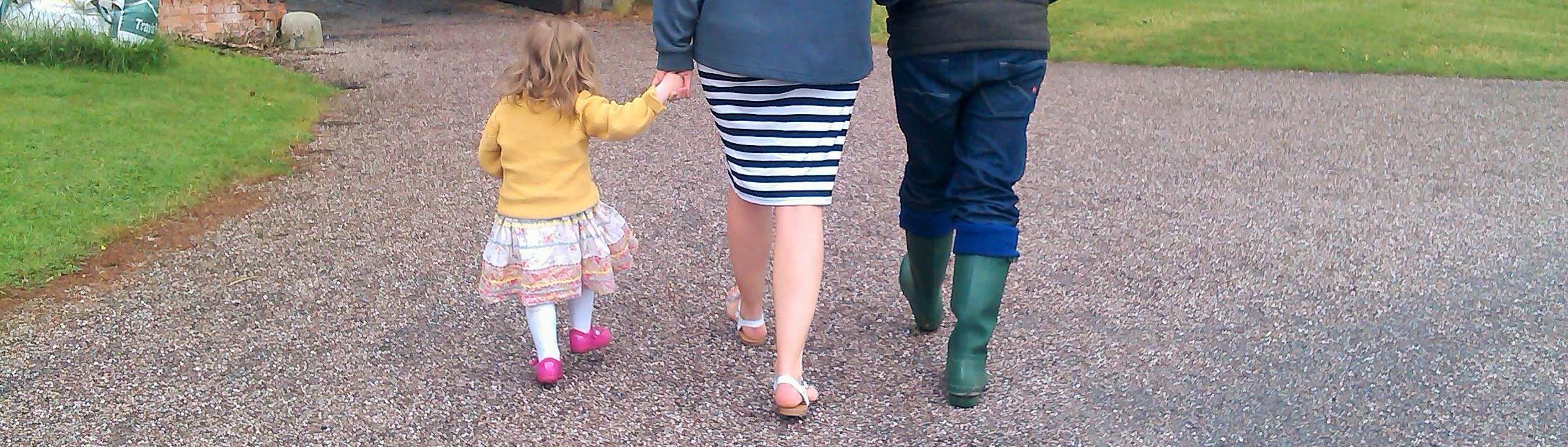 stay at home mum family holding hands unique blogger award