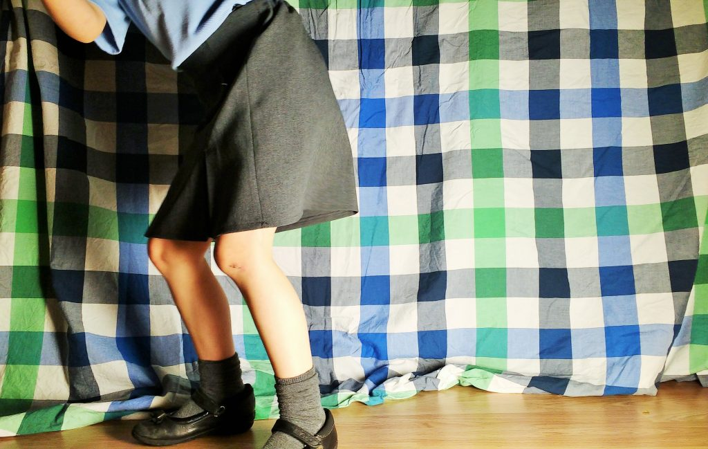 Trutex School Uniform Skirt Jumping
