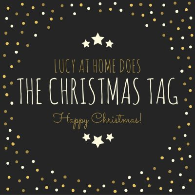Lucy At Home Does THE CHRISTMAS TAG