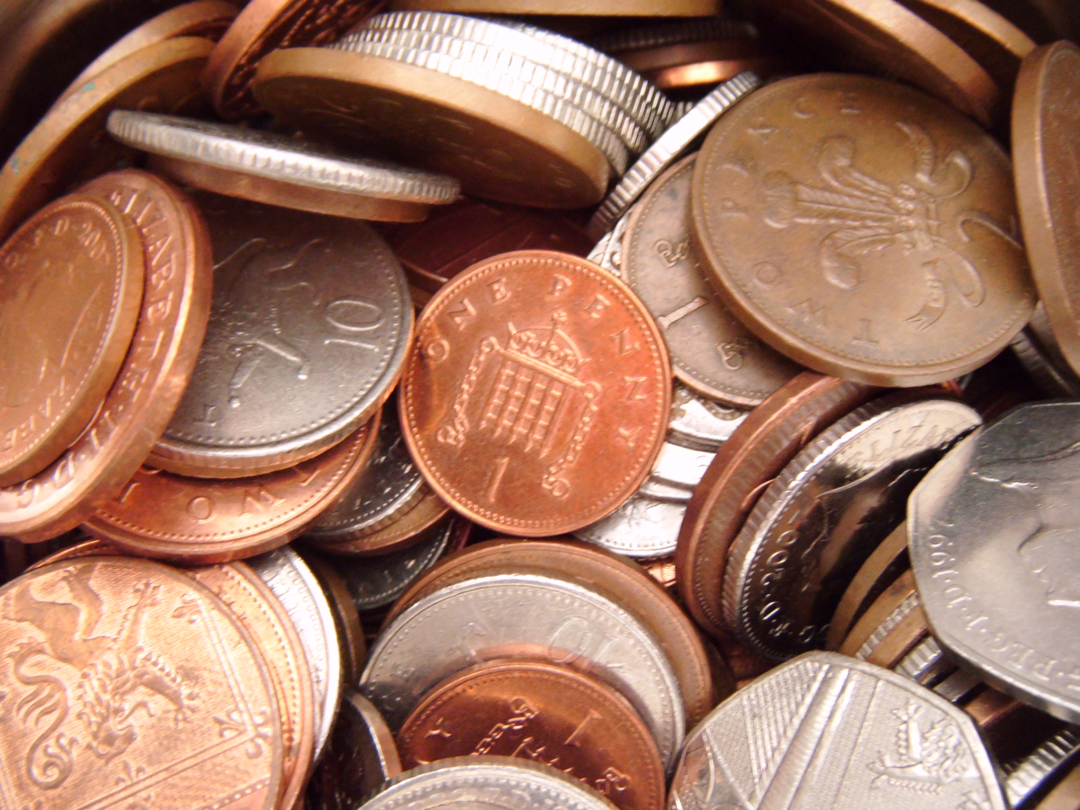 money-saving tips copper coins
