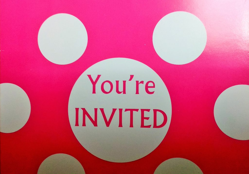 Growing Up Party Invite