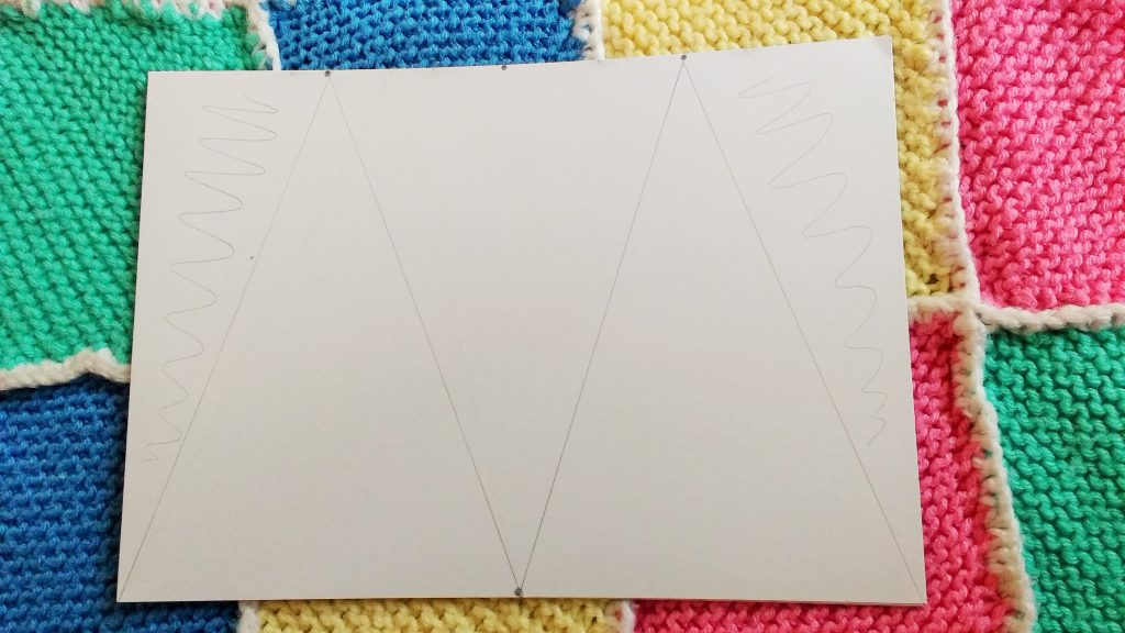 bunting pencil marks