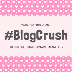 Lucy At Home Blogcrush Week 34