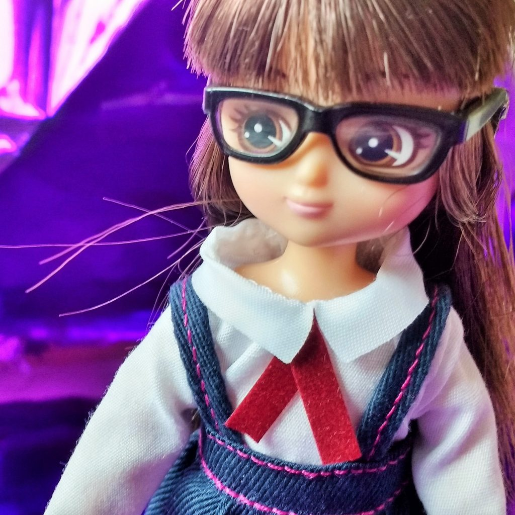 Lottie Doll School Girl Close Up
