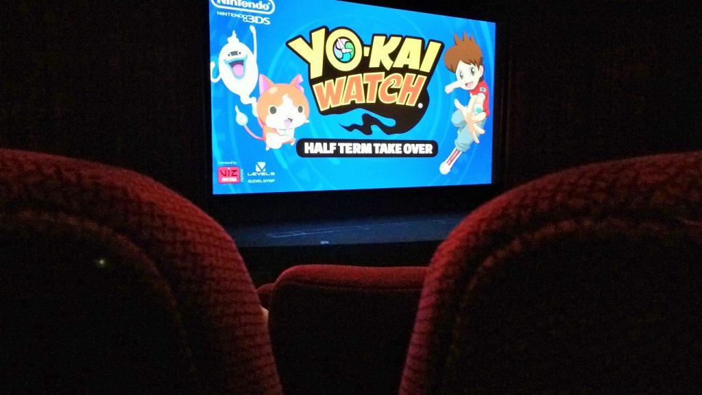 Yo-Kai Watch Cinema seats