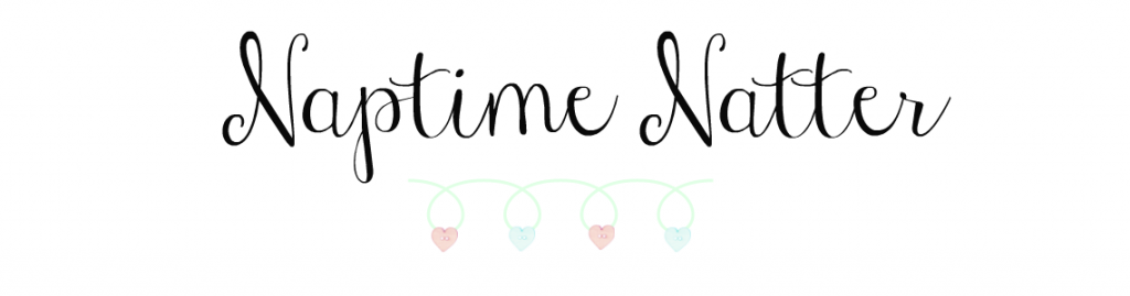 Naptime Natter Header #BlogCrush Linky Co-Host