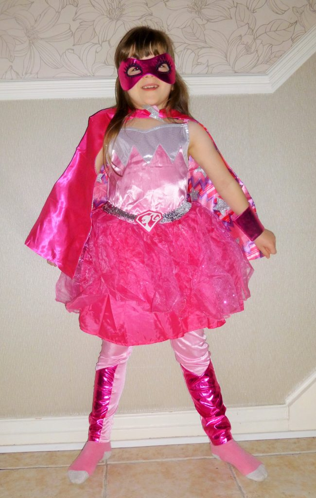 superhero party girl costume outfit dress up