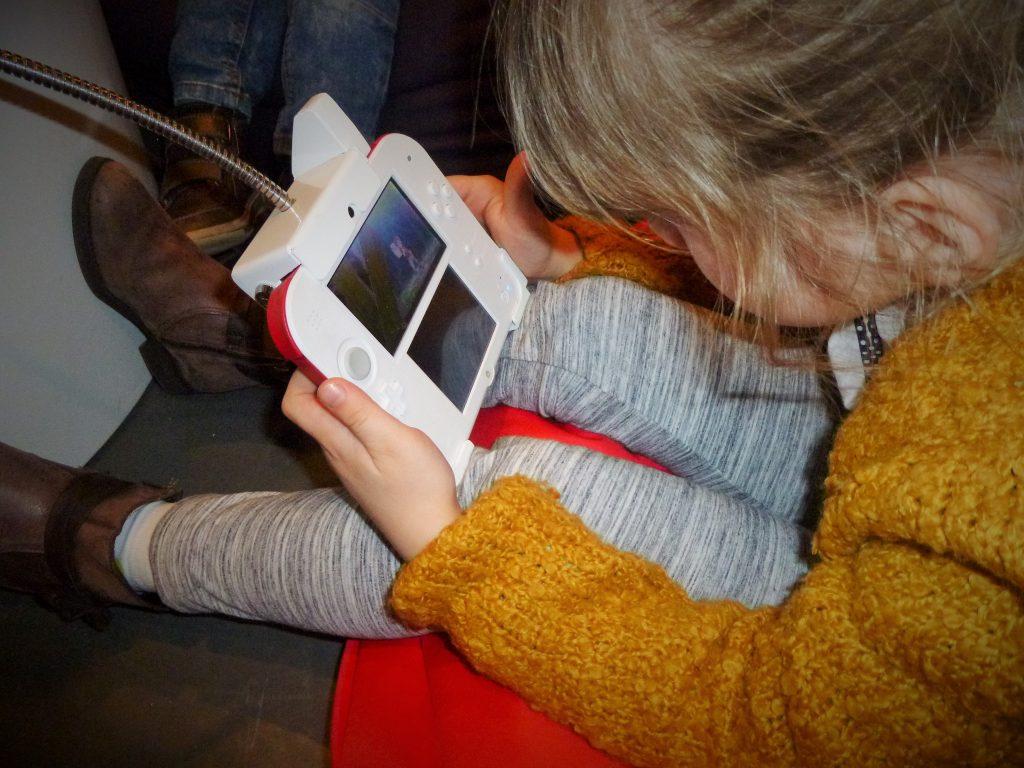 Yo-Kai Watch Playing Nintendo 3DS