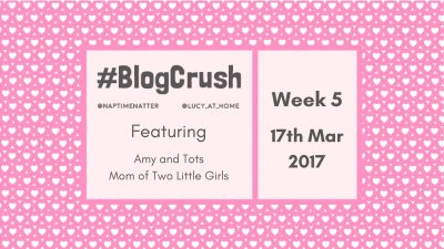#BlogCrush Week 5: 17th March 2017