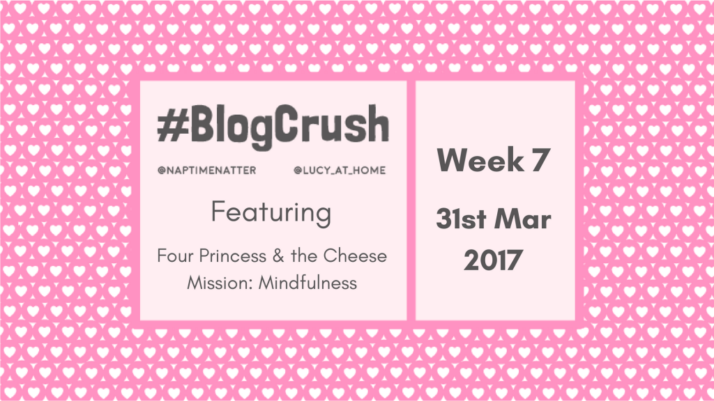 #BlogCrush Week 7: 31st March 2017