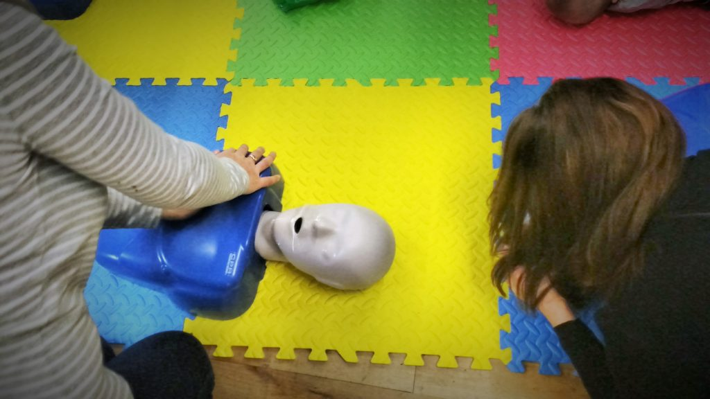 Daisy First Aid Course CPR