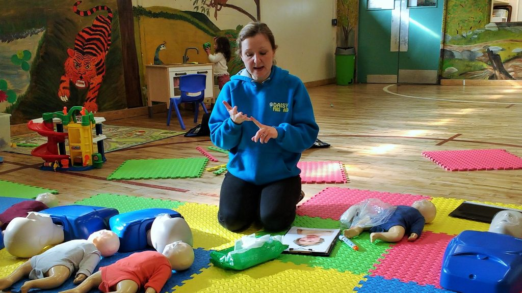 Daisy First Aid Course Tutor Instructor