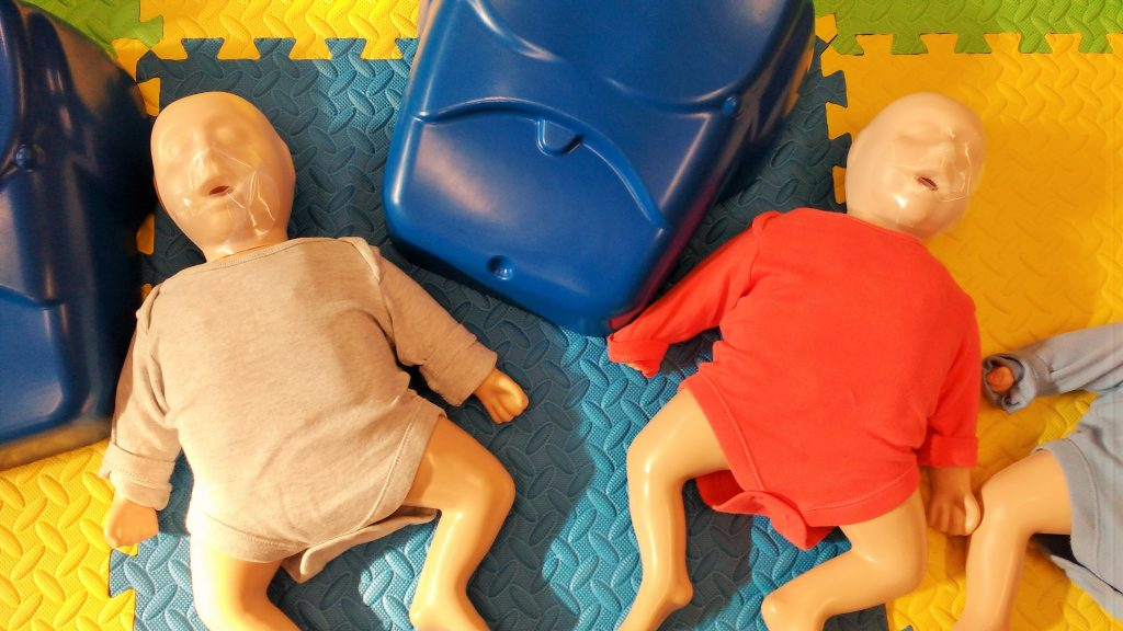 Daisy Parents First Aid Course Baby Dummies
