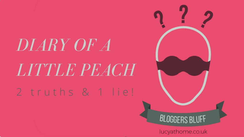 Bloggers Bluff Diary of a little peach blogcrush week 16
