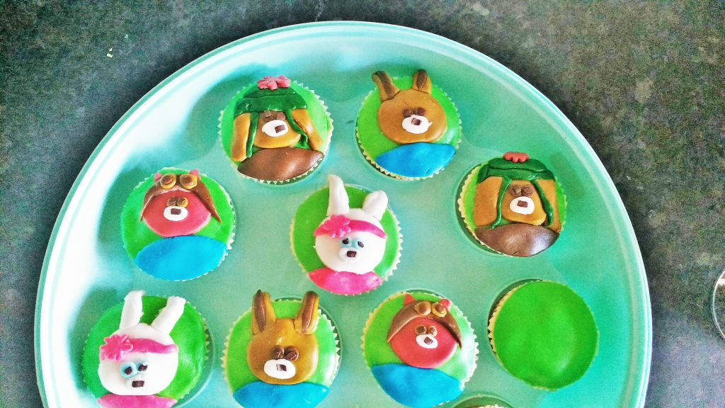 CBeebies Peter Rabbit Characters Cupcake Decoration blogcrush week 15