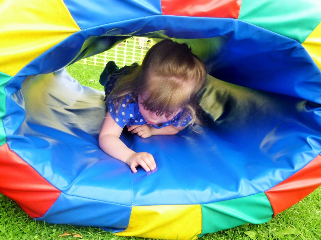 I can do this inner voice toddler soft play
