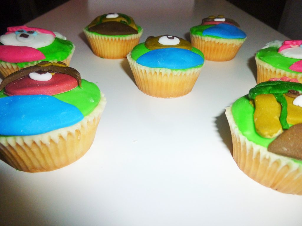 CBeebies Peter Rabbit Characters Cupcakes