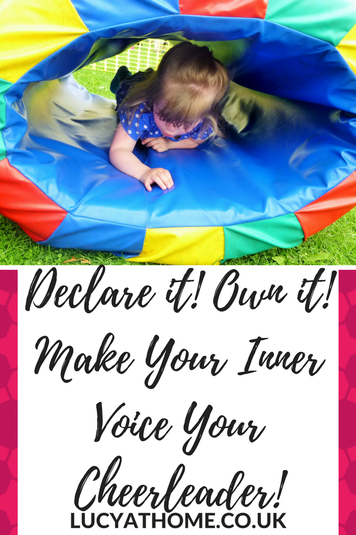 Pinterest Declare it! Own it! Make Your Inner Voice Your Cheerleader