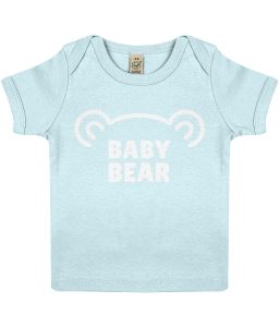 Lucy At Home Baby T-shirt Baby Bear Blue Barbecue