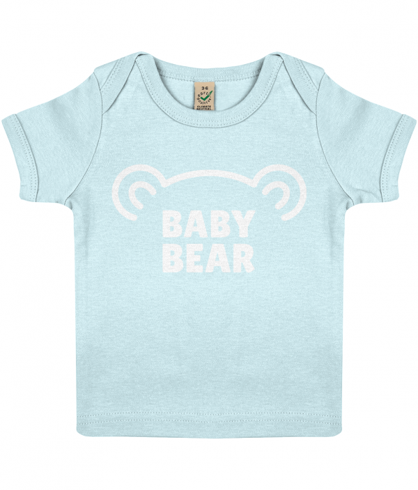 Lucy At Home Baby T-shirt Baby Bear Blue