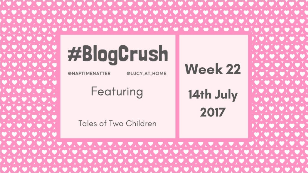 Blogcrush Week 22 – 14th July 2017