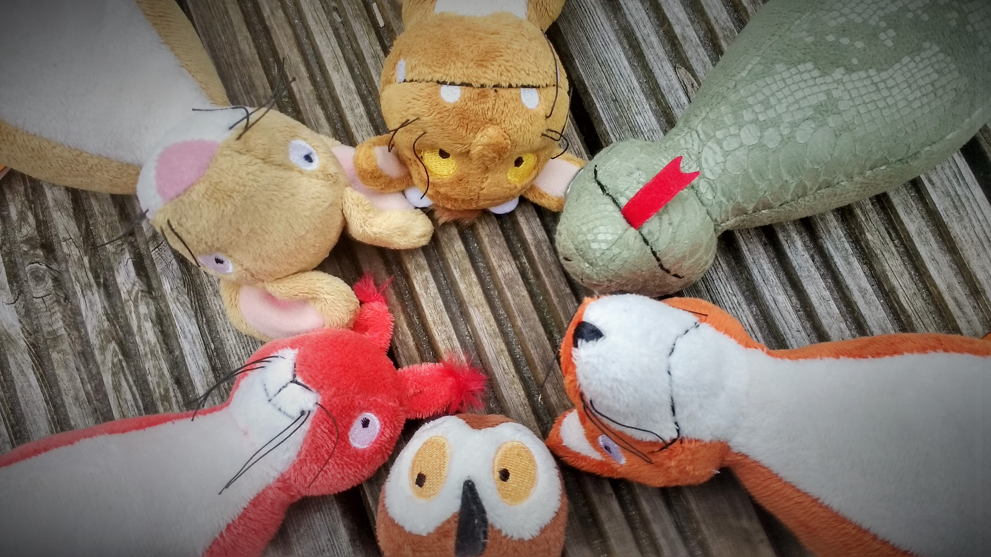At Home Activities Gruffalo Themed