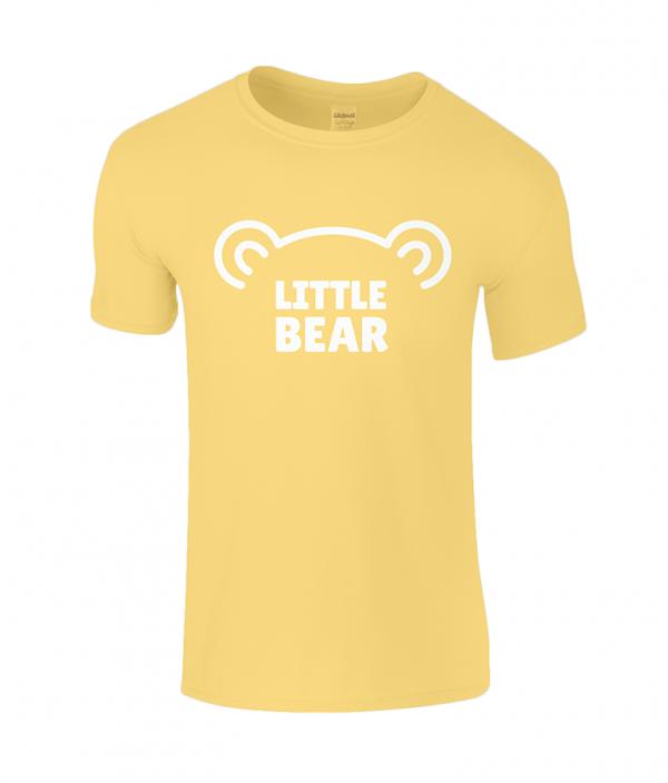 Lucy At Home T-Shirt Little Bear Daisy Beach