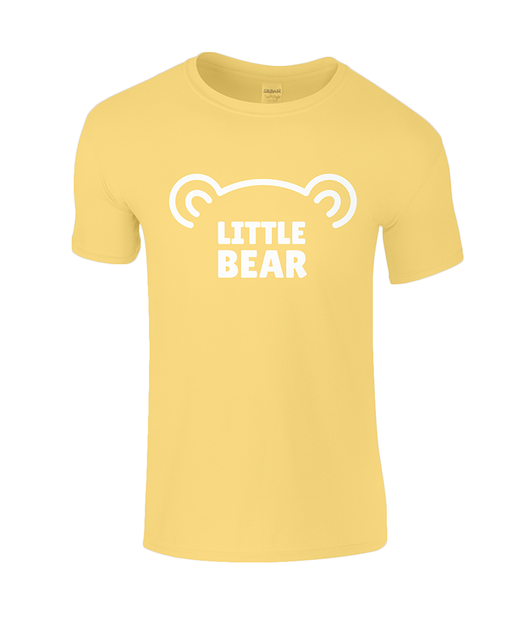 Lucy At Home T-Shirt Little Bear Daisy Beach