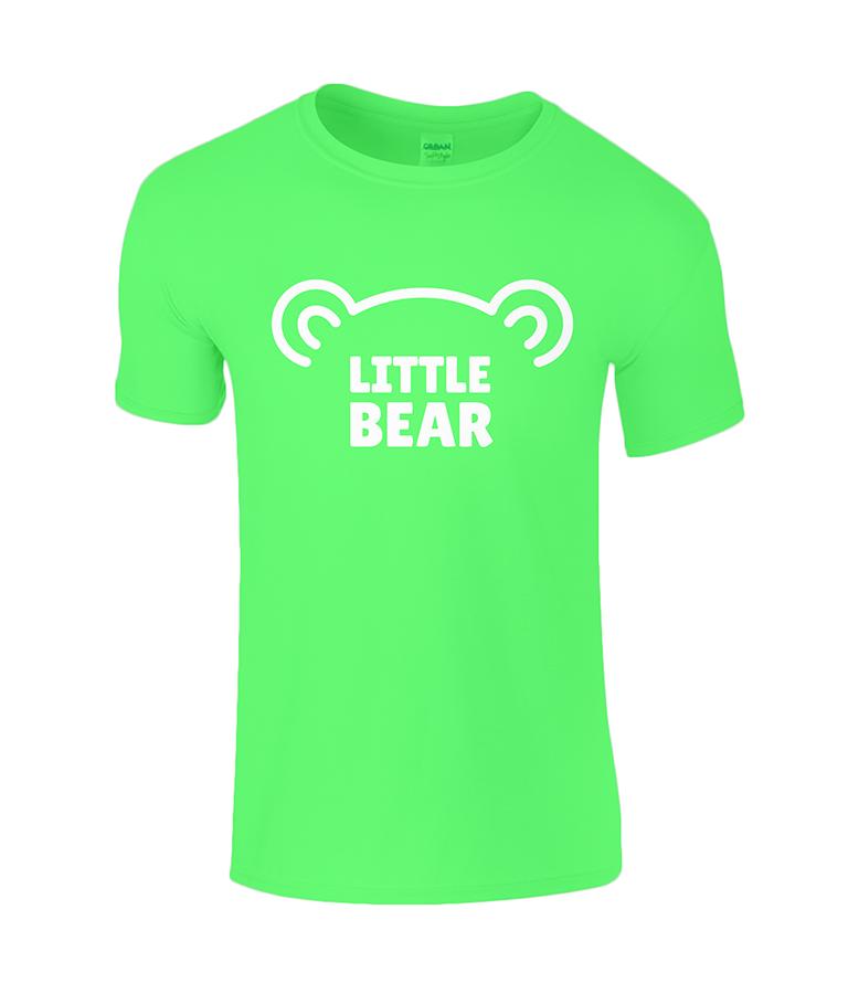 Lucy At Home T-Shirt Little Bear Irish Green