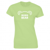 Mama Bear ladies' t-shirt from Lucy At Home - Kiwi Green