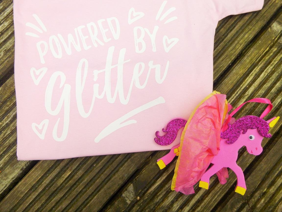Lucy At Home Powered By Glitter Kids T-Shirt Themed Activities