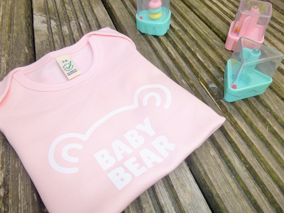 Lucy At Home T-Shirt Baby Bear Light Pink