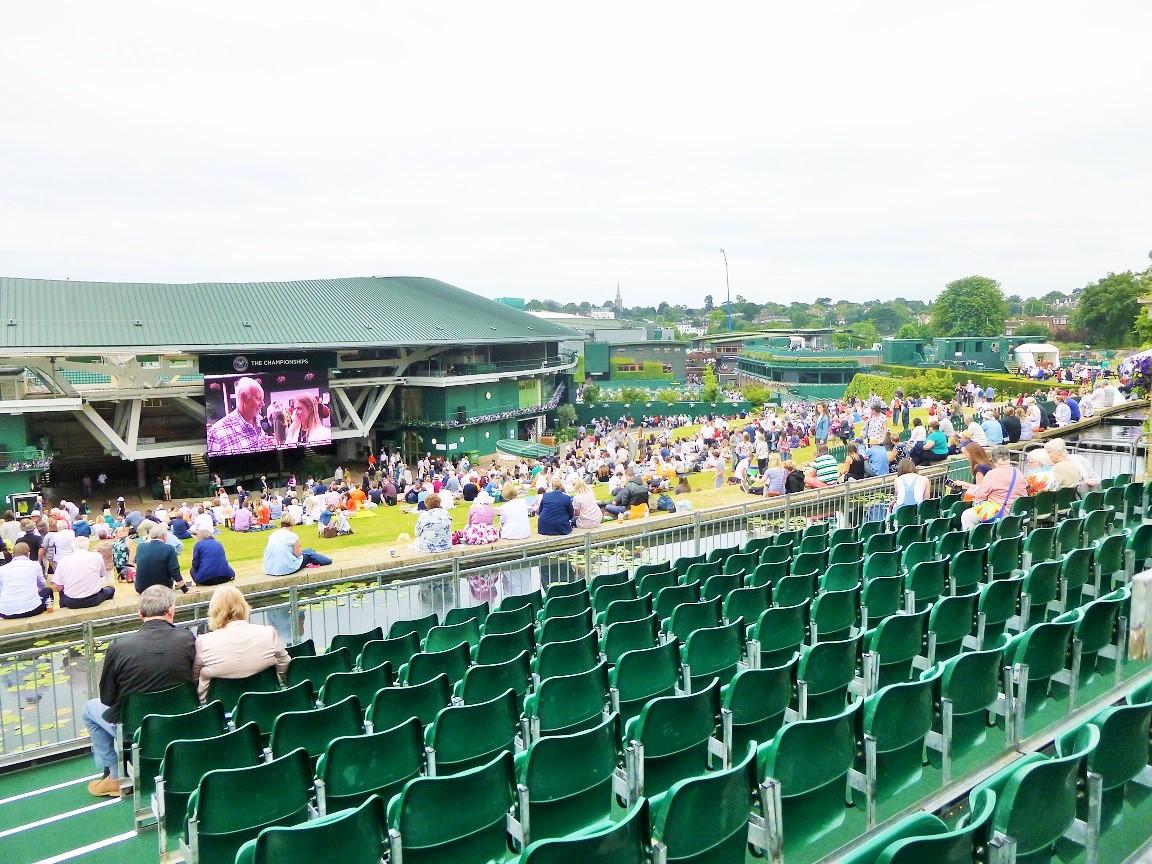 Wimbledon Henman Hill Stand