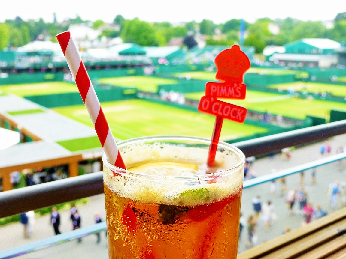 Wimbledon Glass Of Pimms Parenting Blog