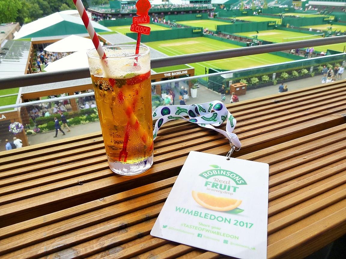 Wimbledon Robinsons Suite Pimms