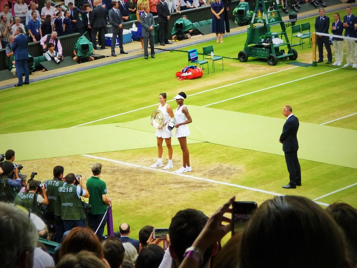 Wimbledon Ladies' Final 2017 Winners