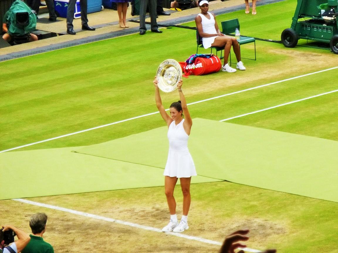 Wimbledon Women's Final 2017 Muguruza