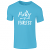 Lucy At Home Kids T-Shirt Pretty Fearless Sapphire