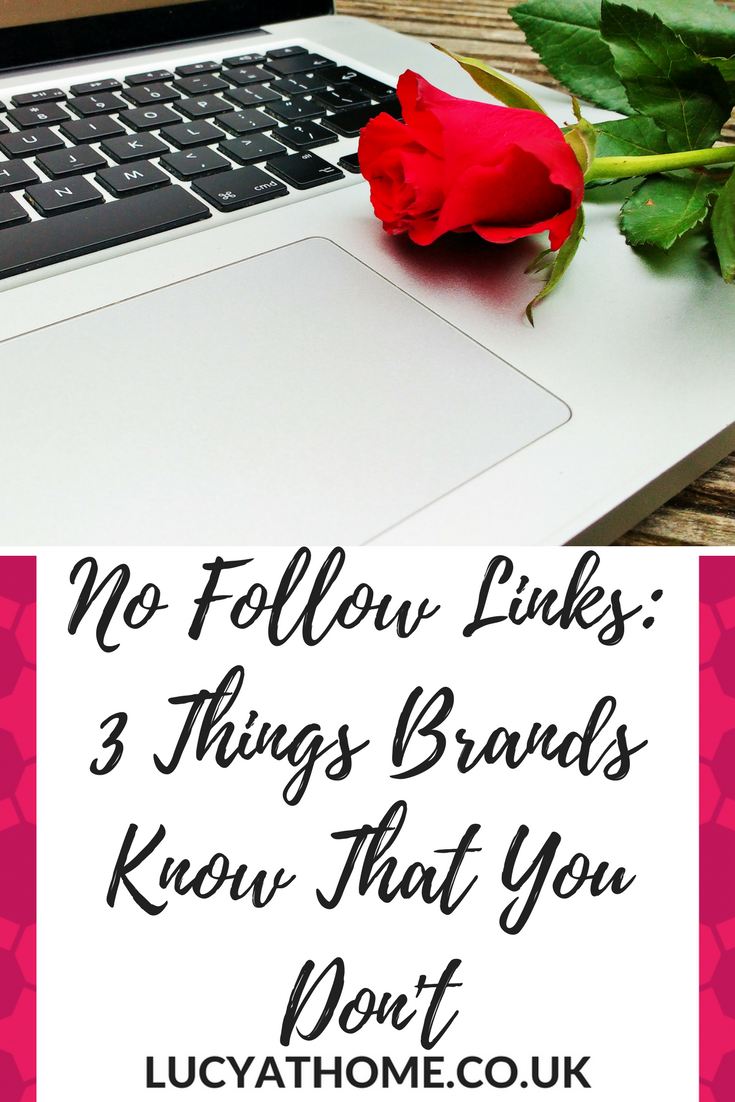 Pinterest No Follow Links 3 things brands know that you don't, blogging tips, blogging tips and tricks