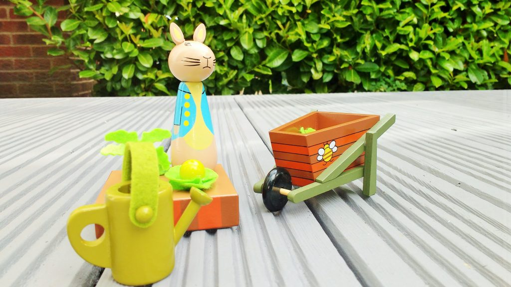 Peter Rabbit Play Set Review (includes giveaway)