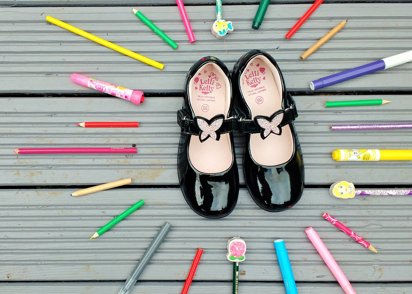 Jake Shoes Lelli Kelly Review Giveaway Pencils Parenting Blog