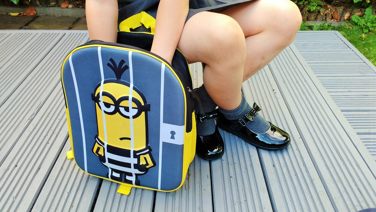 Jake School Shoes School Bag Despicable Me