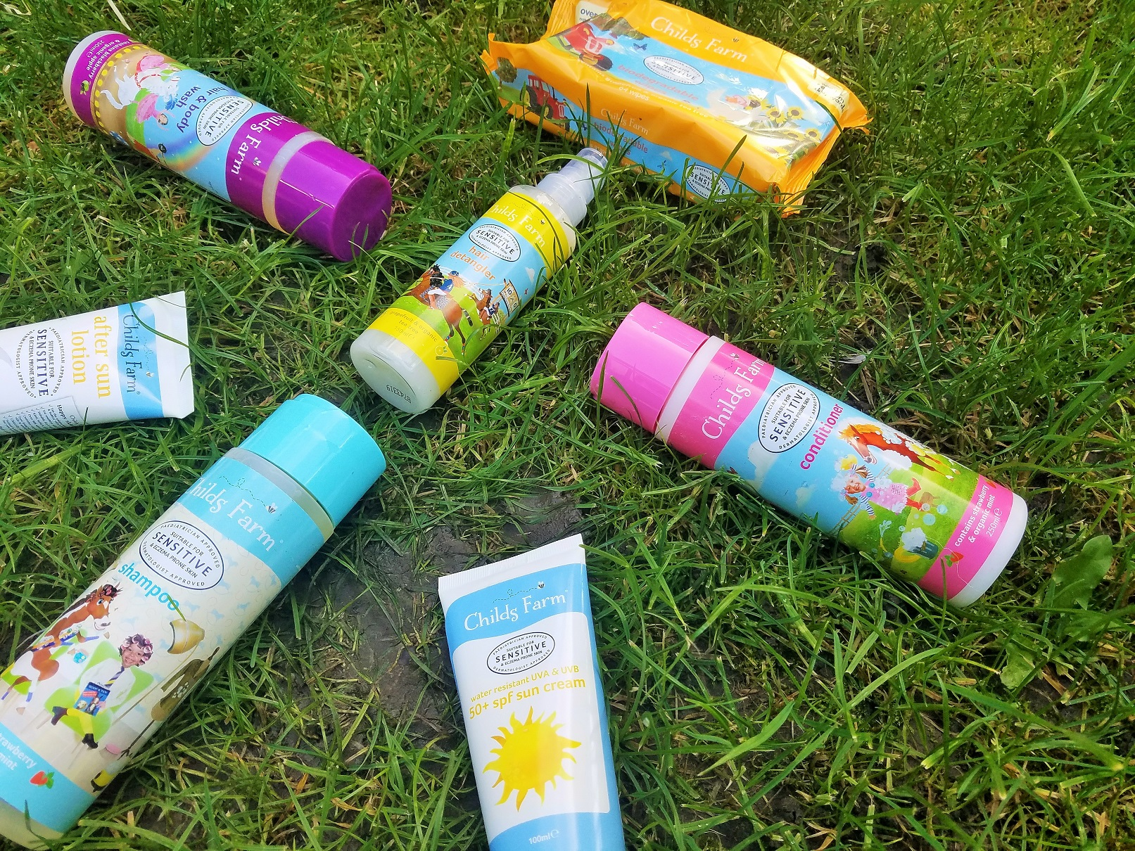 Childs Farm Skin care and hair care