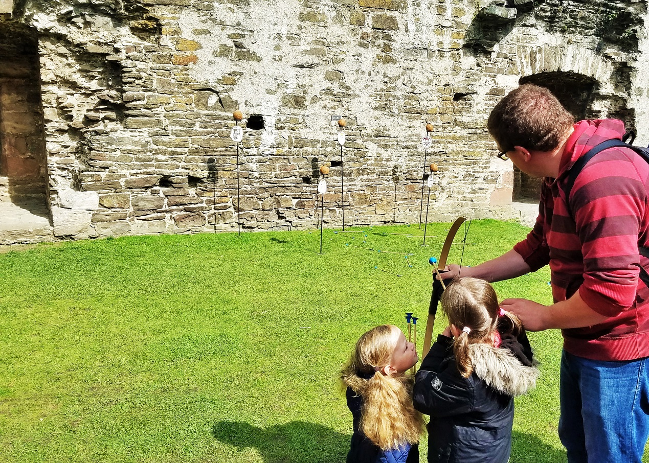 North Wales Conwy Castle Bow and Arrow