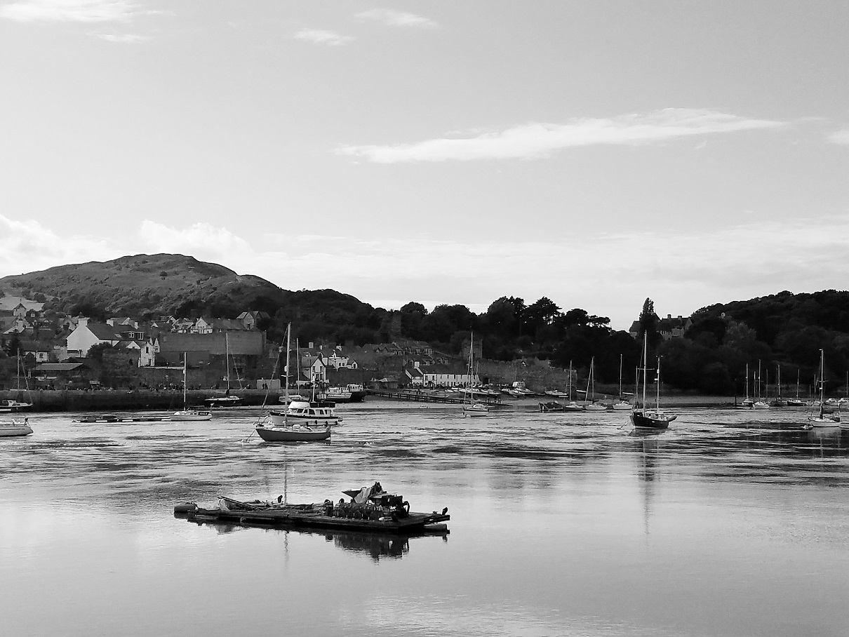 North Wales Conwy Harbour Boats