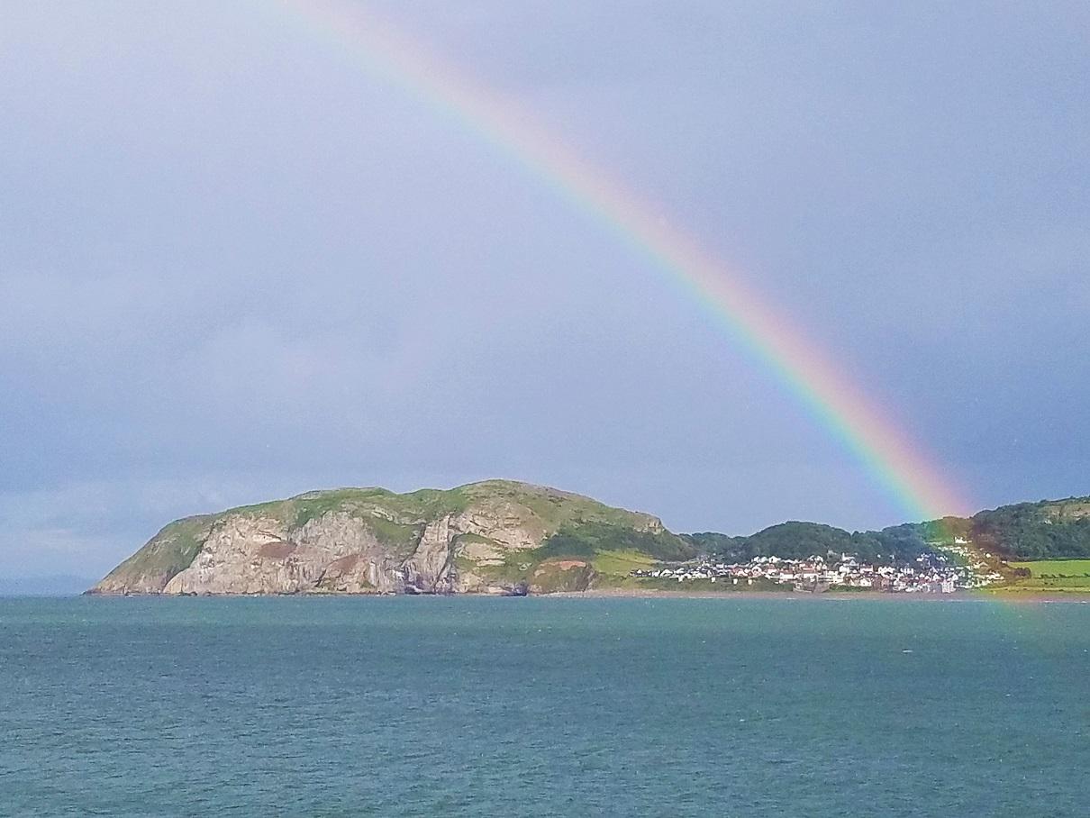 North Wales Llandudno Rainbow